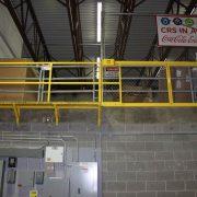 Horizontal Mezzanine Safety Gate – EDGE Fall Protection