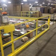 Horizontal Mezzanine Safety Gate - EDGE Fall Protection