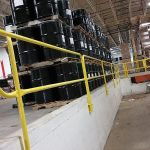 PitRail removable safety rail - EDGE Fall Protection
