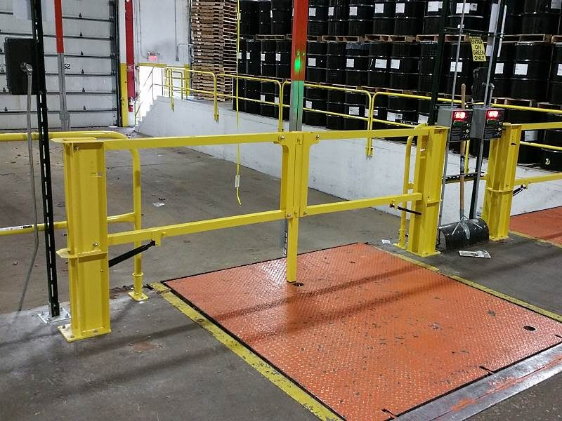 Cantilever Dock Gate – EDGE Fall Protection