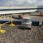 EDGE Fall Protection – Parapet Rail – Sysco (2)