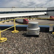 EDGE Fall Protection – Parapet Rail – Sysco (2)