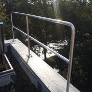 Floor Mounted Railing - EDGE Fall Protection