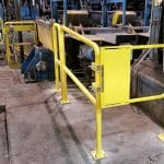 Floor Mounted Railing – EDGE Fall Protection