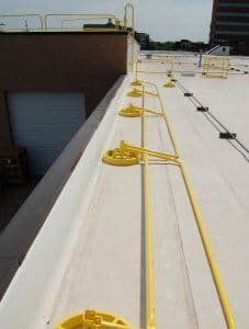 360 Mobile Hide-a-Rail Folding Rail Down - EDGE Fall Protection