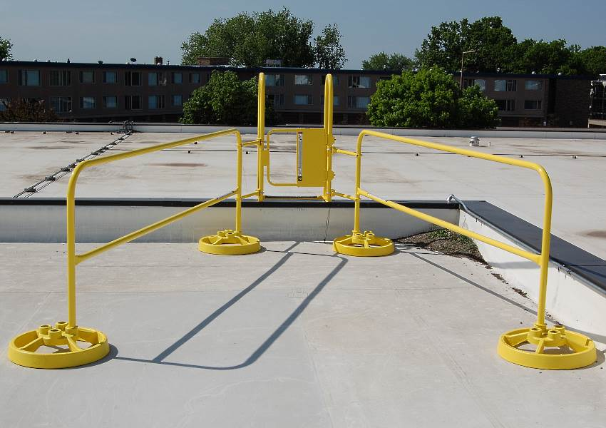 Fixed Ladder Safety Guard Pictures To Pin On Pinterest