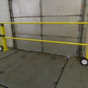 Loading Rolling Dock Gate - EDGE Fall Protection