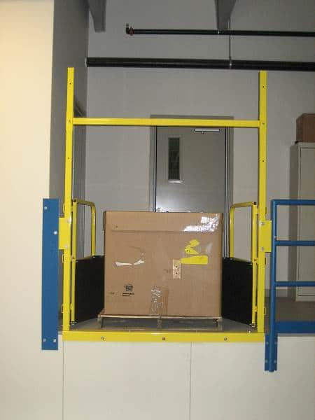 Pallet Flow Industrial Safety Gate – EDGE Fall Protection