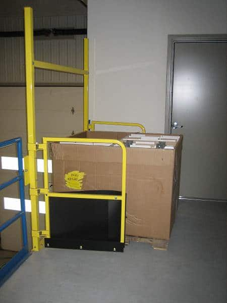 Pallet Safety Gate Adjustable Stainless And Pivot Styles