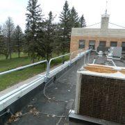 Parapet Wall Clamping Rail – EDGE Fall Protection