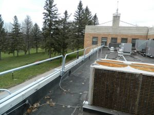 Parapet Wall Clamping Rail - EDGE Fall Protection