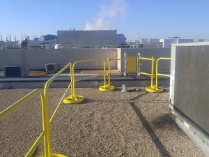 Self-Closing Safety Gate - EDGE Fall Protection