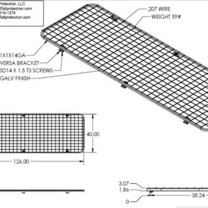 R-Panel Skylight Screen - EDGE Fall Protection