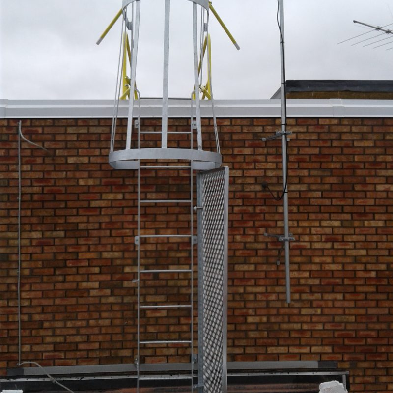 Access Ladder – Cage – Security Door – EDGE