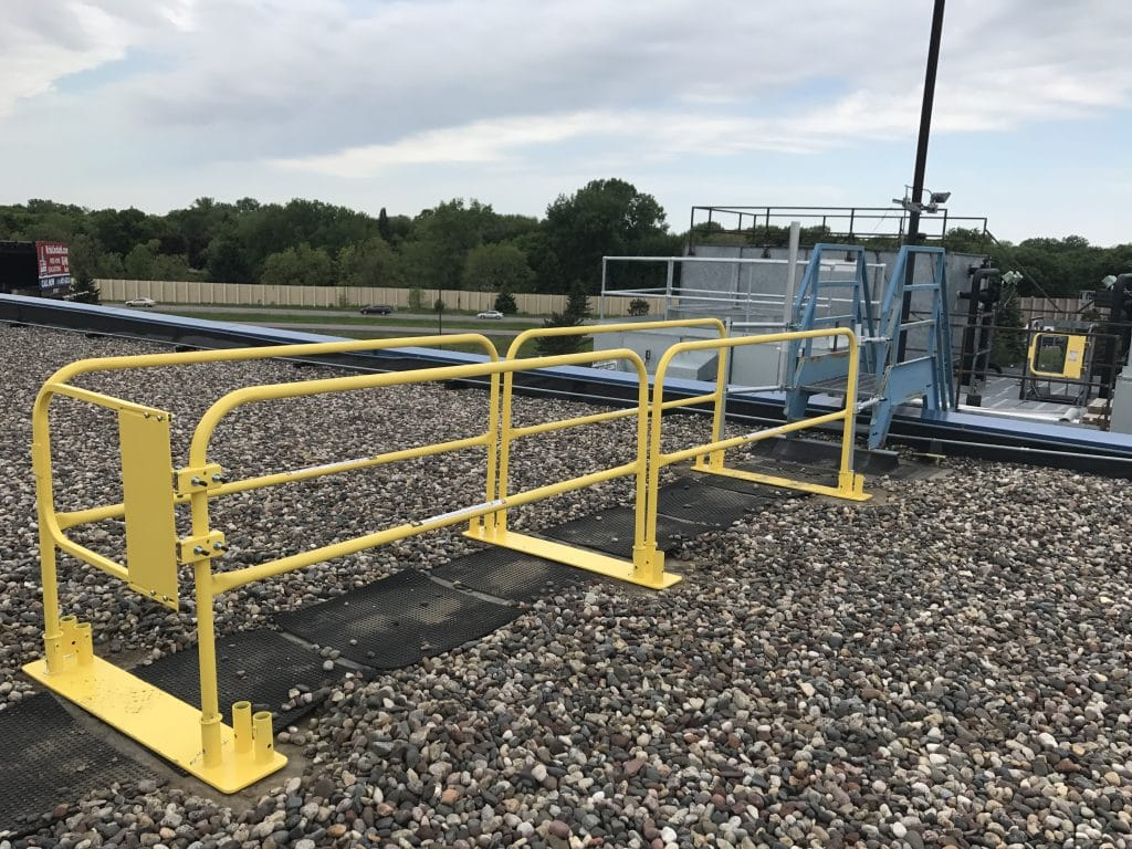 Safety Products The Best Guardrail Systems Edge Fall