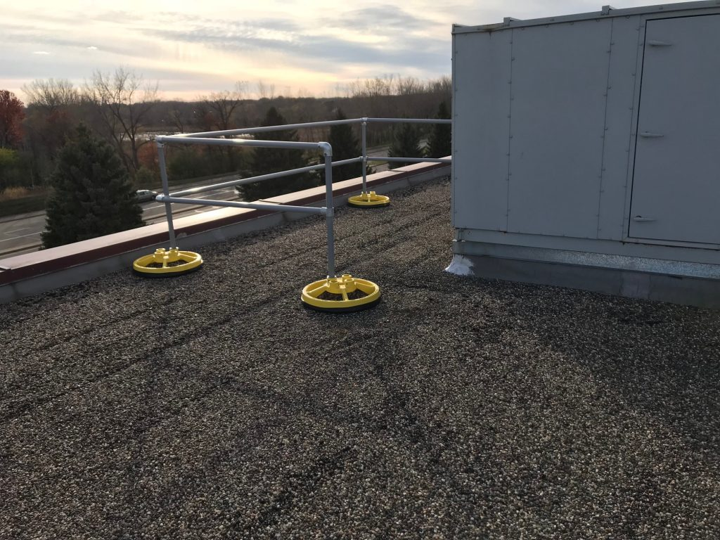 Osha Walking Working Surfaces Low Sloped Roof Fall
