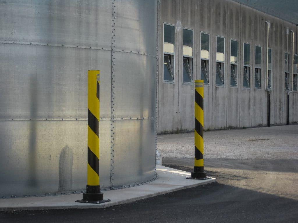 SlowStop® Rebounding Steel Bollards