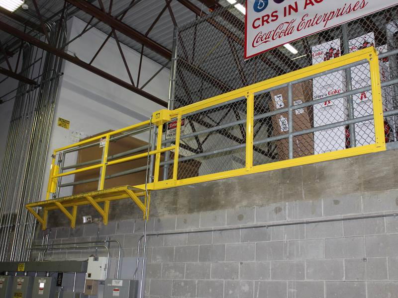Horizontal Mezzanine Safety Gate Great Prices
