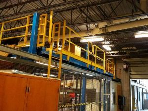 USAF Mezzanine Rail - EDGE Fall Protection