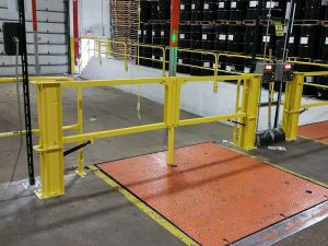 Cantilever Dock Gate - EDGE Fall Protection