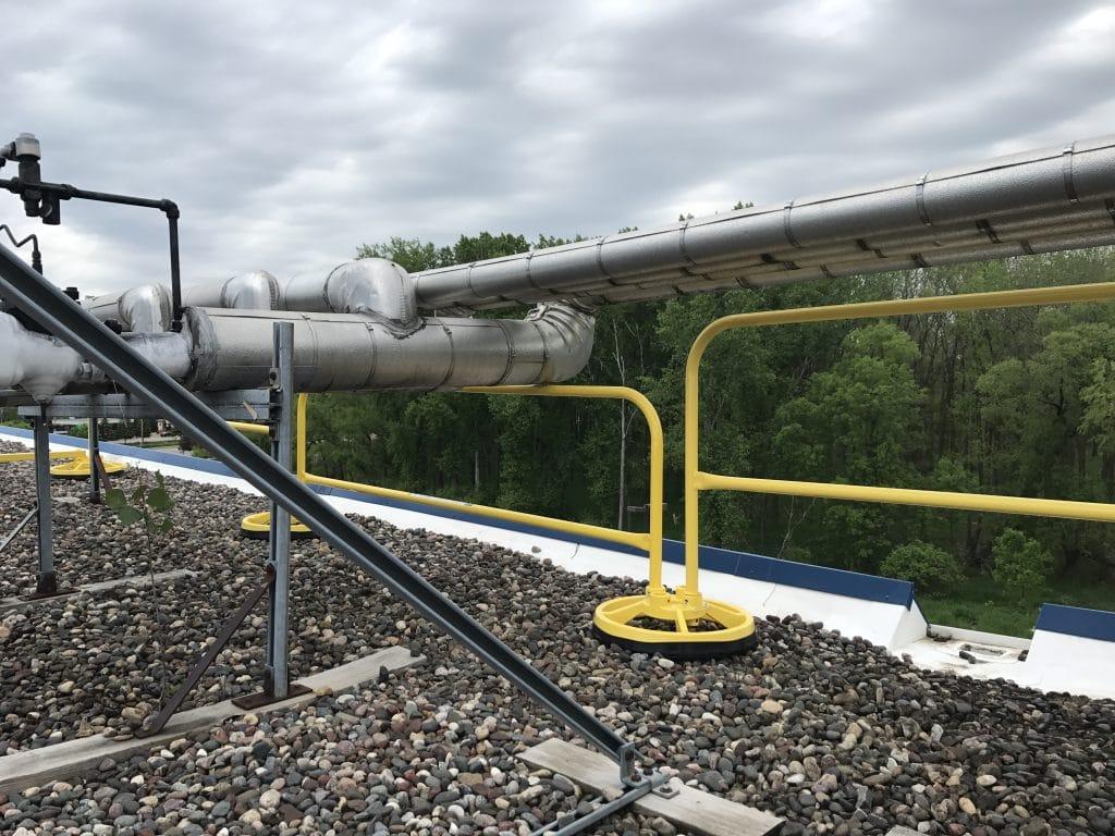 EDGE Fall Protection – Parapet Rail – Sysco