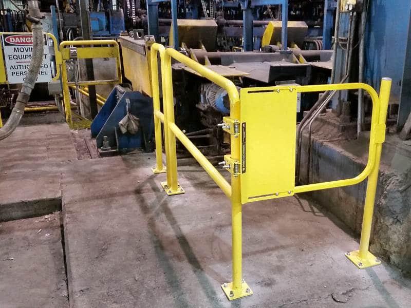 Floor Mounted Railing - EDGE Fall Protection