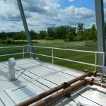 Floor Mounted Railing – EDGE Fall Protection