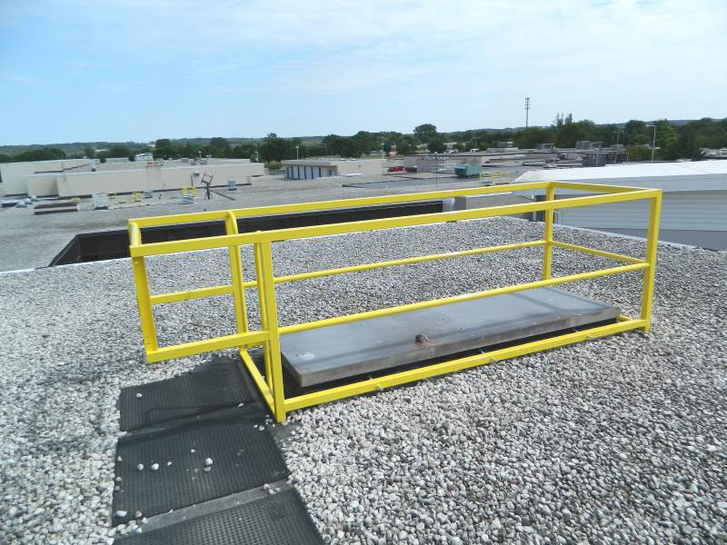 Roof Hatch Guardrail The Best Safe Roof Access Products
