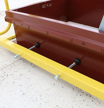 Roof Hatch Guardrail - EDGE Fall Protection