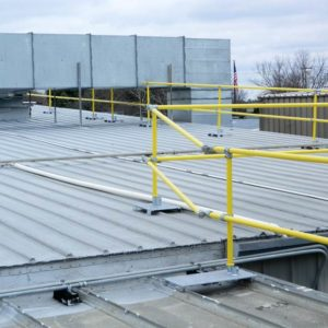 Metal Roof Guardrail - EDGE Fall Protection