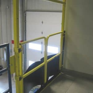 Pallet Flow Safety Gate - EDGE Fall Protection