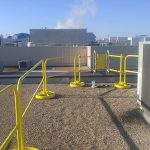 Self-Closing Safety Gate – EDGE Fall Protection