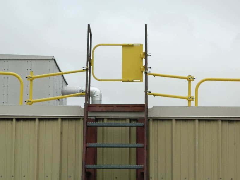 Self Closing Safety Gate Stainless Steel And Industrial