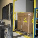 Self-closing Pallet Flow Safety Gate – EDGE Fall Protection