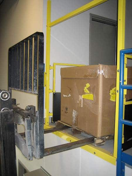Self-closing Pallet Flow Safety Gate - EDGE Fall Protection