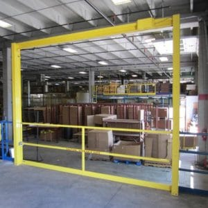 Vertical Mezzanine Safety Gate - EDGE Fall Protection