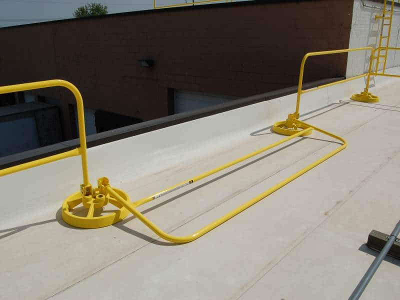 360 Mobile Hide A Rail Folding Edge Fall Protection