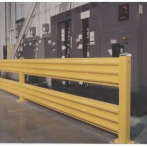 Industrial Removable Safety Railing Prefabricated And